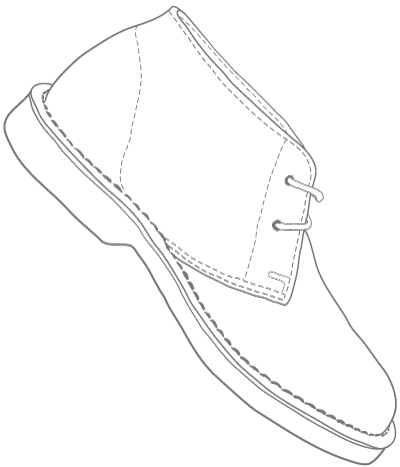 vellie shoe illustration