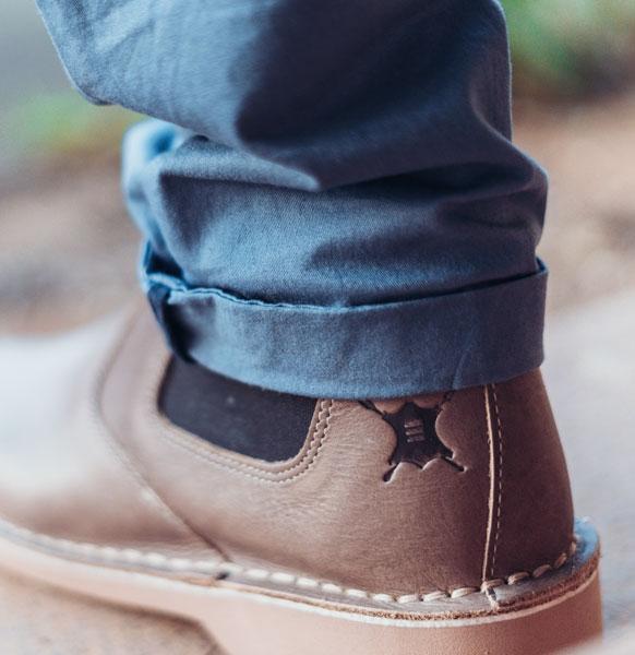 legion chelsea boots detail