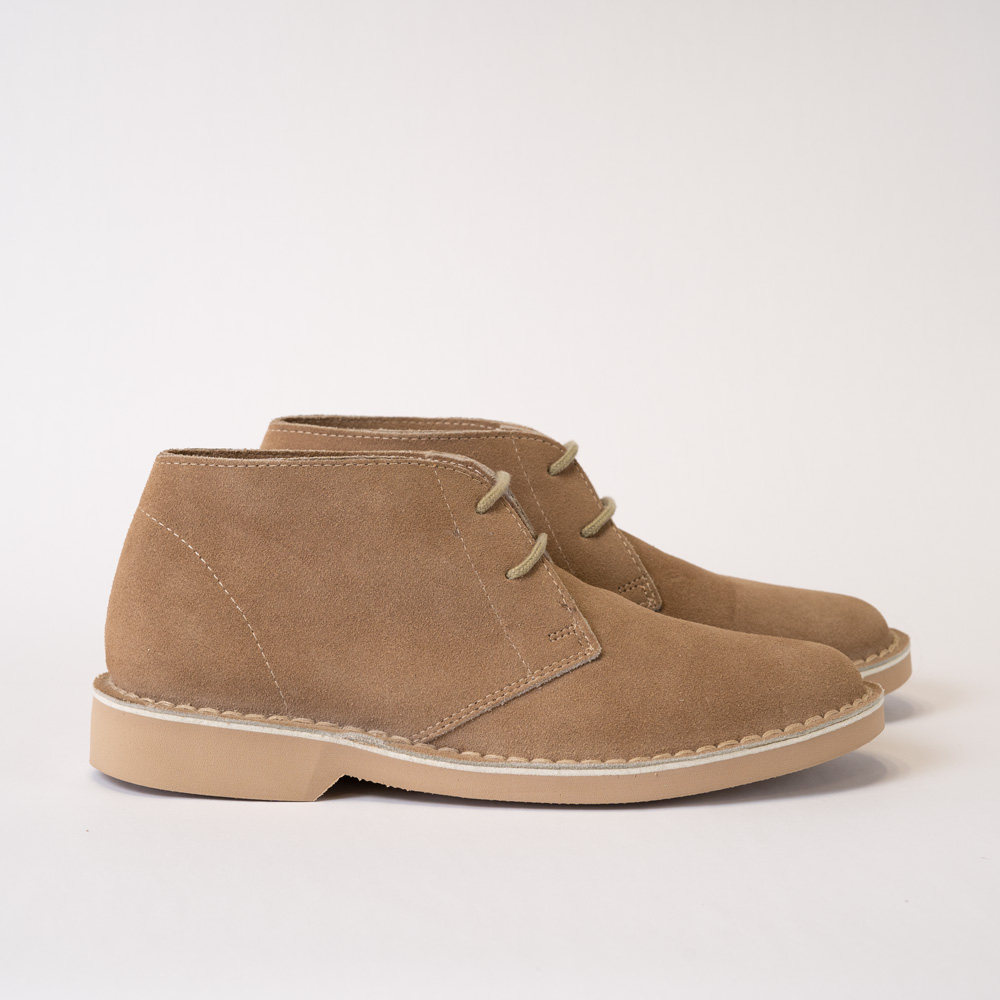 Trident – Tan Vellies Shoes