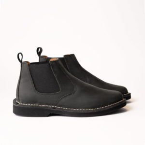main image of black lance chelsea boot