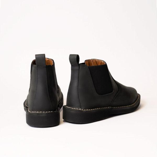 back of black lance legion boot