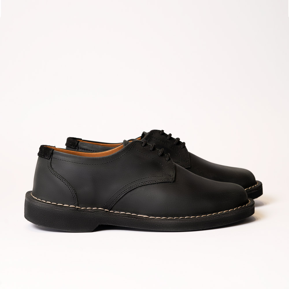 Assegai – Black Leather Shoes
